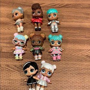 L.O.L Mini Dolls Lot